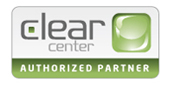 clear center logo